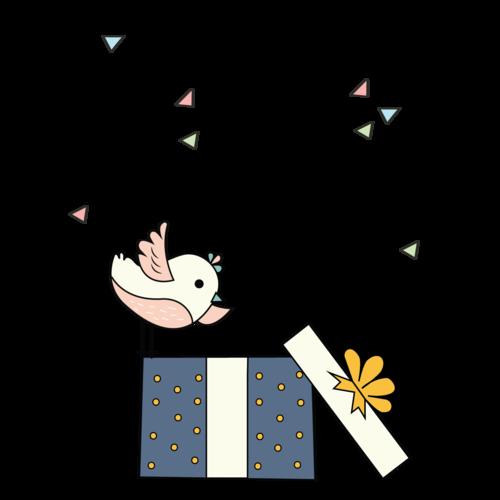Überraschung - Robin bekommt ein Geschenk